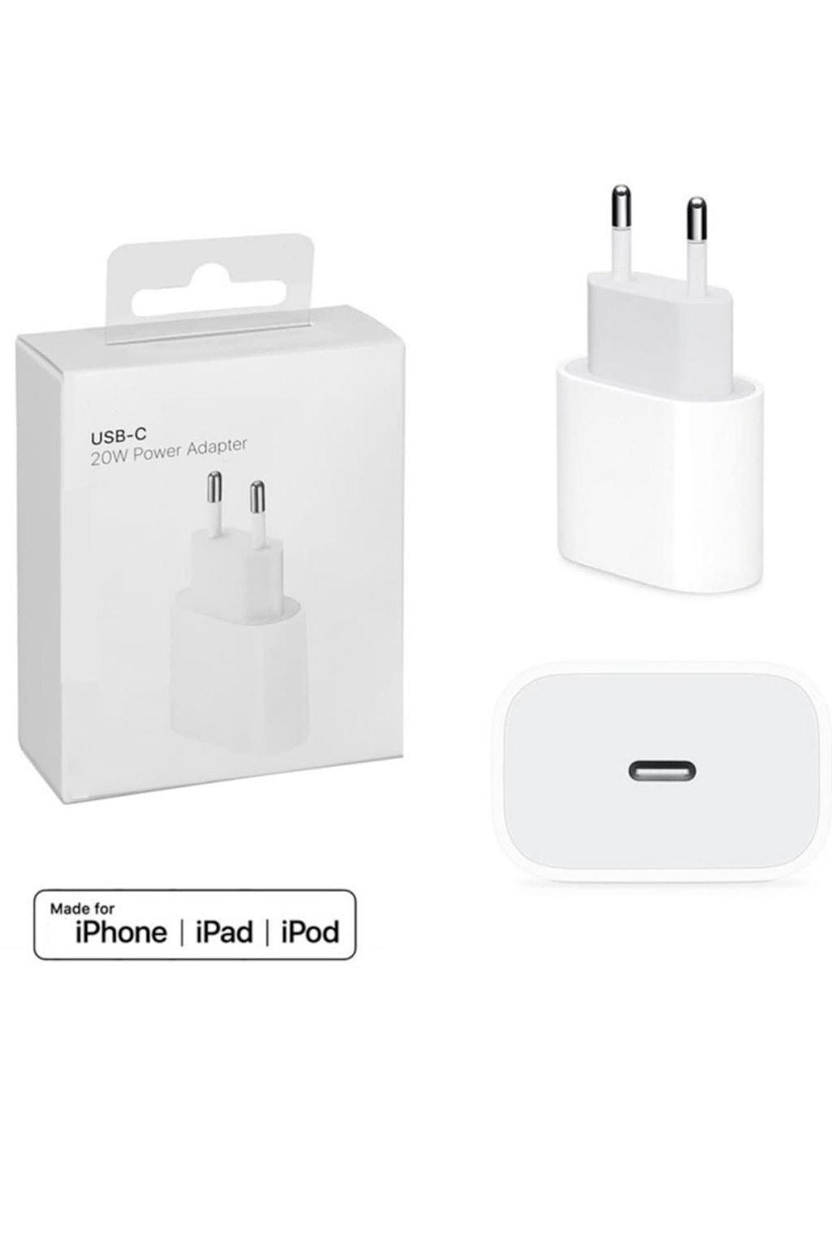 Iphone 11 / 11 Pro / 11 Pro 12 12 Pro Uyumlu Yeni Nesil Type-c Girişli 20w Hızlı Şarj Adaptör