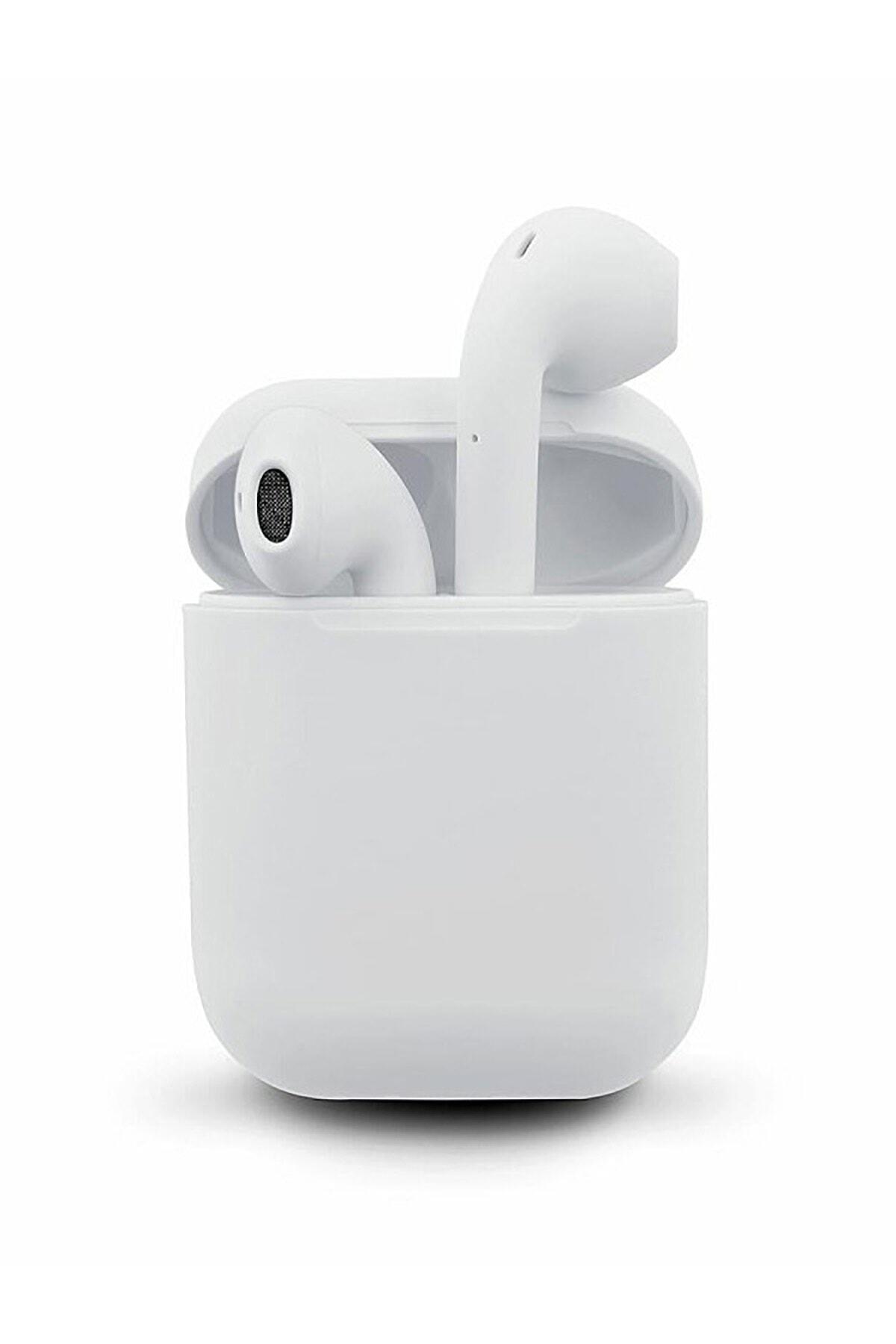 Airpods i12 Beyaz Bluetooth Kulaklık Muhteşem Ses Performansı