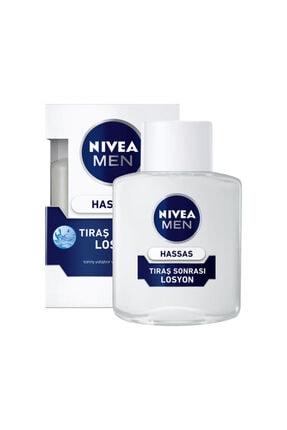 Nivea For Men Losyon Hassas 100 ml 0