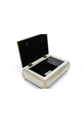 Kutu Müzikli Müzik Kutusu Takı Kutusu Çerçeveli Hediyelik 10698