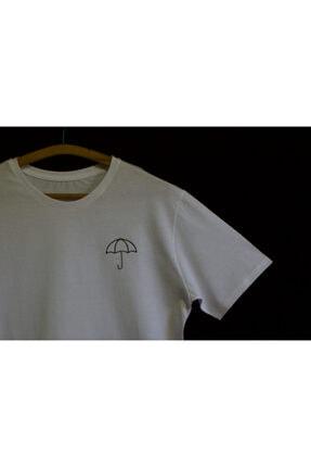 Şemsiye Nakışlı T-shirt Şemsiye-Products