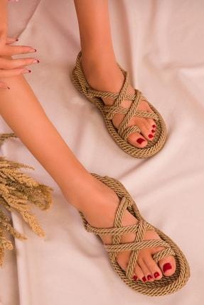 Altın Halat Sandalet 1332