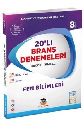 Zeka Küpü Yayınları Zeka Küpü 8. Sınıf Lgs Fen Bilimleri 20 Deneme 0