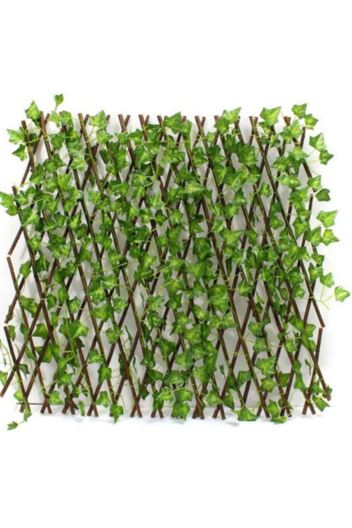 Yapay Sarmaşık Yaprak Çit Bahçe Balkon Çiti 3x1.2 M