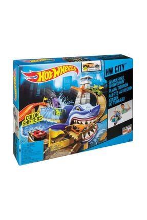 HOT WHEELS Hot  Wheels Sharky Yarış Seti 1