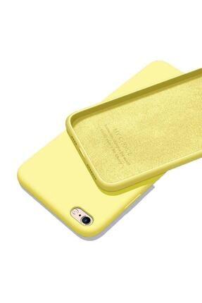 Mopal 100 Adet Iphone 6 / 6s Içi Kadife Lansman Silikon Kılıf 0