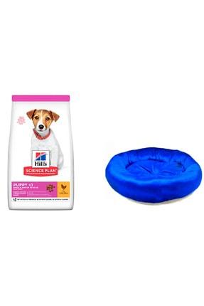 Hills Small Mini Puppy Tavuklu Köpek Maması 1,5 Kg + Köpek Yatağı HLS012124
