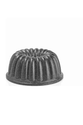 ThermoAD Döküm Sık Dilimli Kek Kalıbı Gri 26 Cm 0