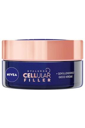 Nivea Hyaluron Cellular Fıller Şekillendirici Yaşlanma Karşıtı Gece Kremi 50 ml 0