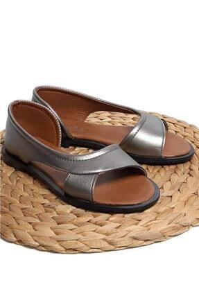 Moda Frato Pwr Açık Kadın Sandalet Yazlık Ayakkabı Babet 3