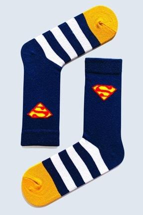 CARNAVAL SOCKS 7'li Marvel Karakter Renkli Çorap Set 1018 2
