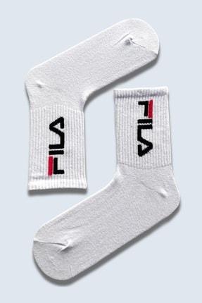 CARNAVAL SOCKS 7'li Nyc Yazılı Atletik Renkli Atletik Spor Çorap Set 1040 3