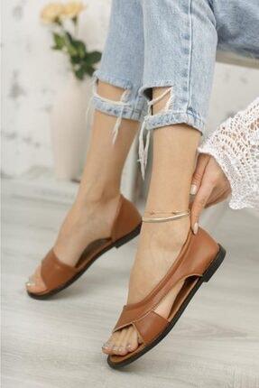 Moda Frato Pwr Açık Kadın Sandalet Yazlık Ayakkabı Babet 0