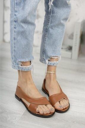 Moda Frato Pwr Açık Kadın Sandalet Yazlık Ayakkabı Babet 2