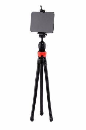 Dijimedia Esnek Flexible Tripod Kamera Profesyonel Telefon Tutucu 360 Derece Tripot 3