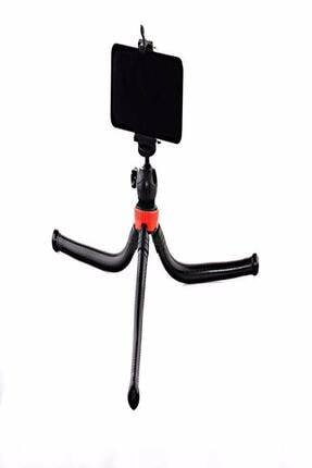 Dijimedia Esnek Flexible Tripod Kamera Profesyonel Telefon Tutucu 360 Derece Tripot 4