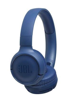 JBL T500BT Kablosuz Kulaküstü Kulaklık Mavi 0