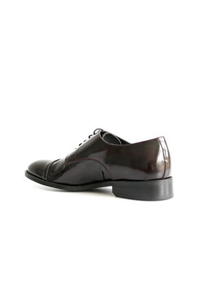 Beta Shoes Erkek Bordo League Deri Ayakkabı 3