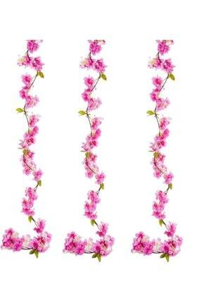 Nettenevime Yapay Çiçek Bahardalı 180cm Dolanabilen Model Japon Kiraz Çiçeği Pembe 0