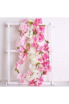 Nettenevime Yapay Çiçek Bahardalı 180cm Dolanabilen Model Japon Kiraz Çiçeği Pembe 3