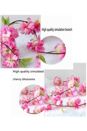 Nettenevime Yapay Çiçek Bahardalı 180cm Dolanabilen Model Japon Kiraz Çiçeği Pembe 4