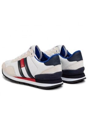 Tommy Hilfiger Erkek Beyaz Ayakkabı Em0em00399-ybs 1