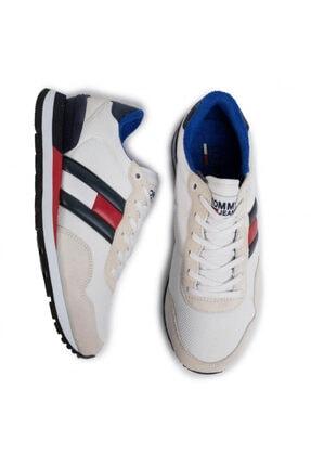 Tommy Hilfiger Erkek Beyaz Ayakkabı Em0em00399-ybs 2