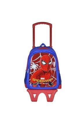 Spiderman Çek Çek Okul Çantası 95548 0
