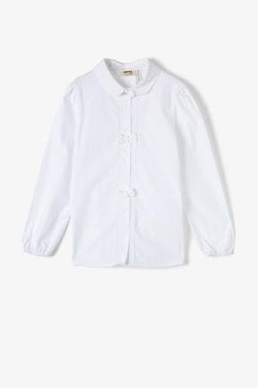 Koton Beyaz Kız Çocuk Gömlek 0