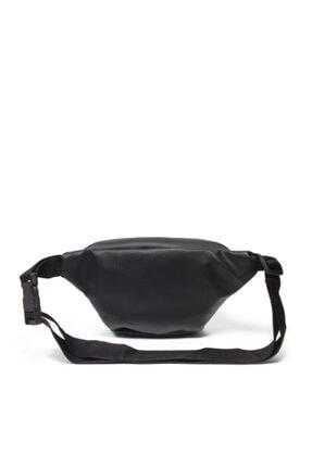 Güce Unisex Siyah Ön Gözlü Ayarlanabilir Askılı Bel Ve Omuz Çantası 2