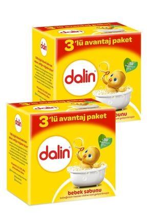 Dalin Bebe Sabun 100 gr 3'lü Avantaj Paketi x 2 Adet 0