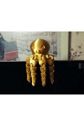 AldımGeldi Sevimli Mini Ahtapot Dekoratif Biblo Dekor Hediyelik Süs 0