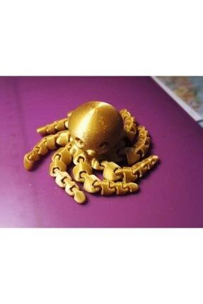 AldımGeldi Sevimli Mini Ahtapot Dekoratif Biblo Dekor Hediyelik Süs 2