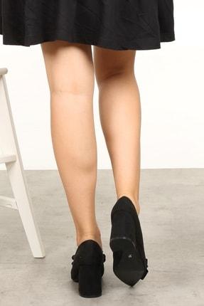 Mio Gusto Siyah Kadın Topuklu Ayakkabı 002057BL 3