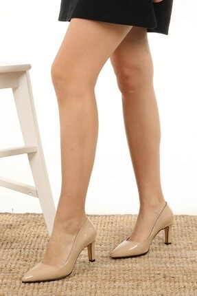 Mio Gusto Lita Ten Rugan Topuklu Ayakkabı 2