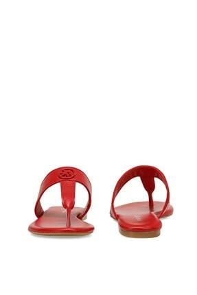 Nine West AVA Kırmızı Kadın Plaj Terliği 100526335 4