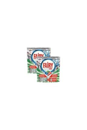 Fairy Platinum Plus 50 Yıkama Bulaşık Makinesi Deterjanı Kapsülü Hızlı Çözünme X 2'li 0