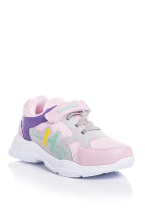 Tonny Black Kız Çocuk Pembe Spor Ayakkabı Tbz13 1
