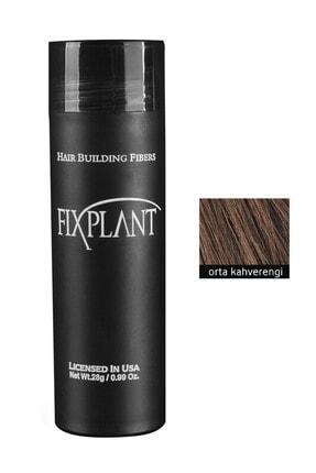 FIXPLANT Saç Dolgunlaştırıcı Topik 28 Gr. Orta Kahve 0