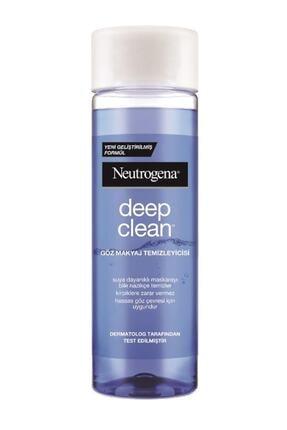 Neutrogena Deep Clean göz Makyaj Temizleyicisi 125 ml 0