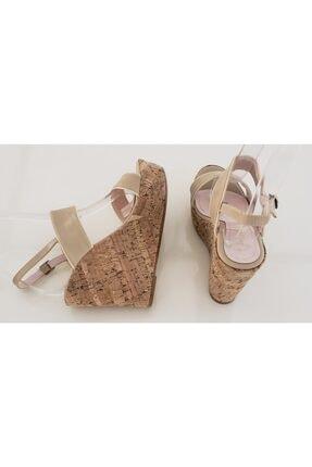 VALERIA / RM AYAKKABI Kadın Bej Dolgu Topuklu Ayakkabı 2