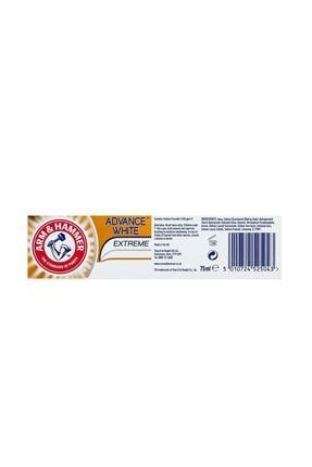 Arm&Hammer 3 Tona Kadar Beyazlatıcı Diş Macunu - Advance White 75 ml 5010724525043 2