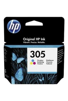 HP 305 Uc Renklı Paket Orjınal Kartus 3ym60a 0