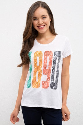 US Polo Assn Kadın T-Shirt G082GL011.000.937760 0