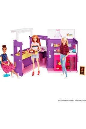 Barbie 'nin Yemek Arabası Gmw07 Lisanslı Orjınal Ürün 1
