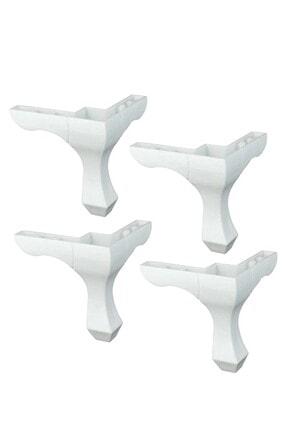 Binbirreyon Mobilya Ayağı 4 Adet Lükens Ayak Plastik 0