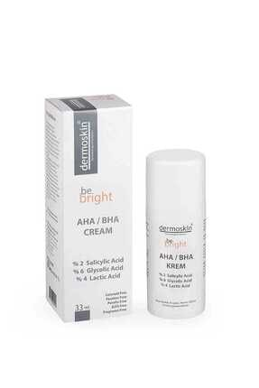 Dermoskin Be Bright  Leke Giderici  AHA/BHA Cream 33 ml 0