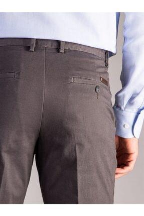 Dufy Antrasit Büyük Beden Düz Erkek Pantolon - Battal 3