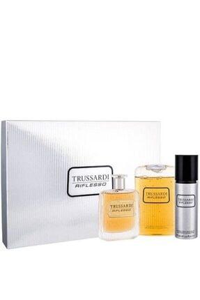 Trussardi Rıflesso Edt 100ml+deodorant 100ml+duş Jeli 200ml Erkek Parfüm Seti 0
