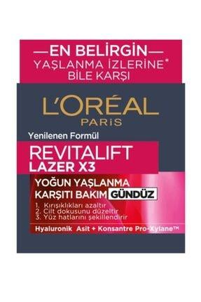 L'Oreal Paris Yaşlanma Karşıtı Krem - Dermo Expertise Revitalift Laser X3 50 ml 3600522365044 2